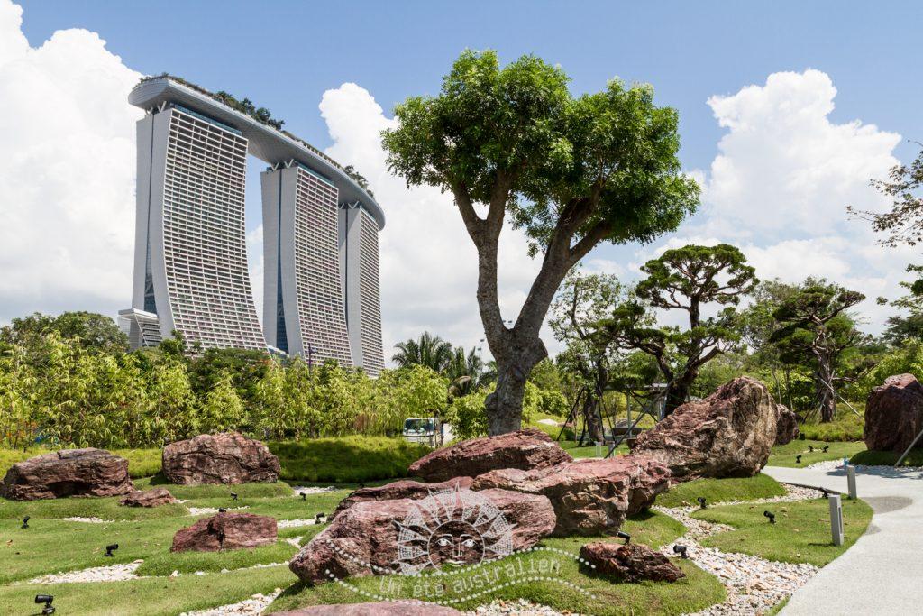 un été australien australie voyage singapour garden by the bay marina bay