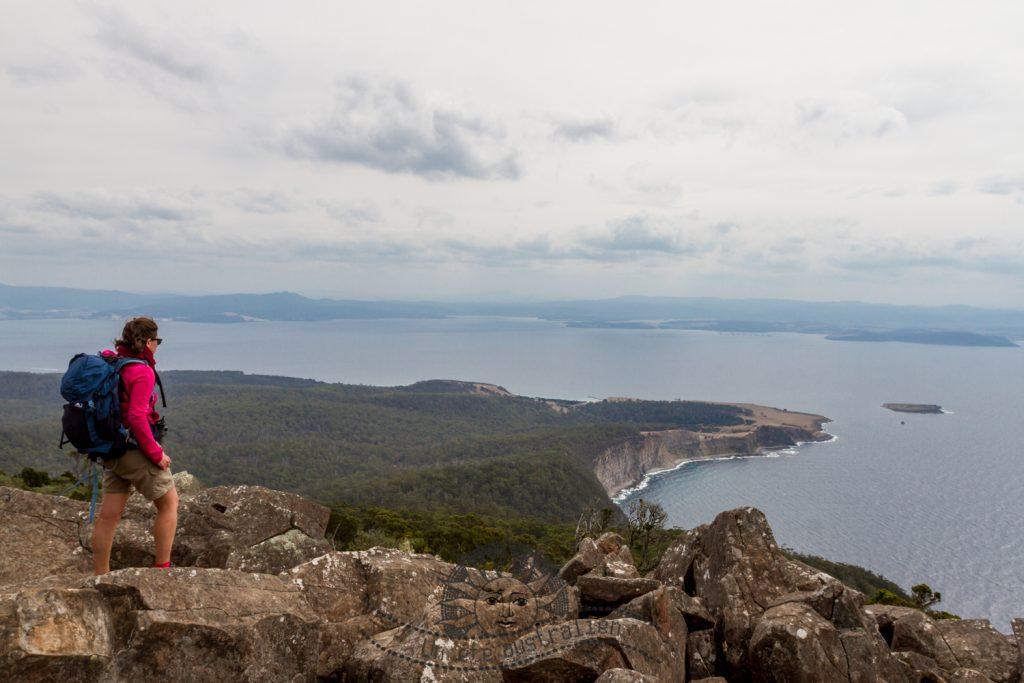 l'île de Maria Island en Tasmanie